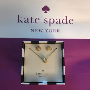 NWT Kate Spade Earring & Necklace Set